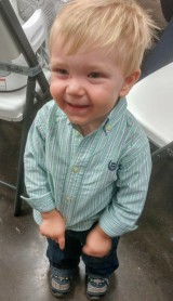 Our nephew, Henry! He's so cute!