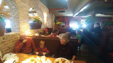 Lunch at Cheddars