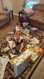 Opening Gifts!