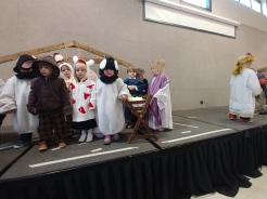 Emma's first Christmas pageant!